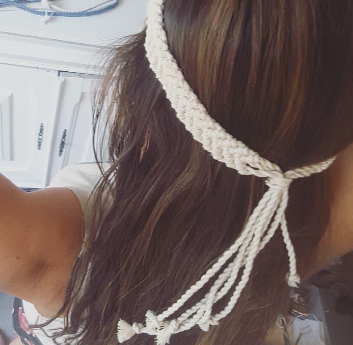 Bandeau cheveux artisanal fait main