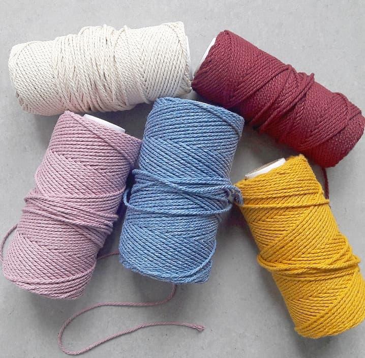 Corde coton macramé DIY