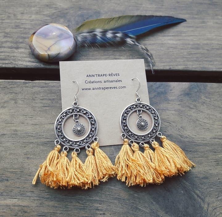 bijoux artisanaux faits main france ethniques bohemes hippies tribals creations uniques bijoux createur artisanat français