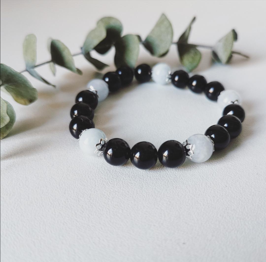 Bracelet pierres gemmes, artisanat, bijoux bohèmes, fait main, idée cadeau